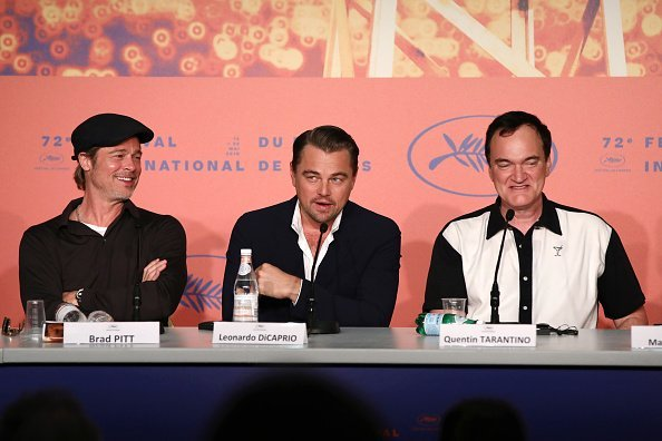 Brad Pitt, Leonardo DiCaprio and Director Quentin Tarantino at the 72nd annual Cannes Film Festival on May 21, 2019 in Cannes, France | Photo: Getty Images