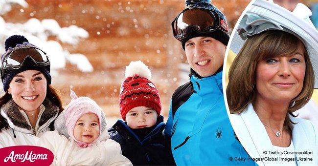Kate Middletons Mutter erzählte, dass ihre Enkelkinder eigene Weihnachtsbäume haben