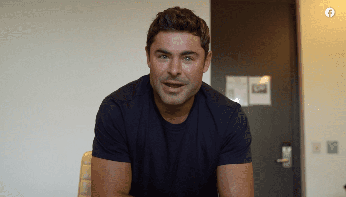 Zac Efron. | Photo : Facebook Watch/Earth Day! The Musical