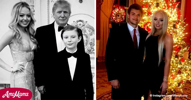 Donald Trump's daughter Tiffany made surprising appearance with her boyfriend at the White House