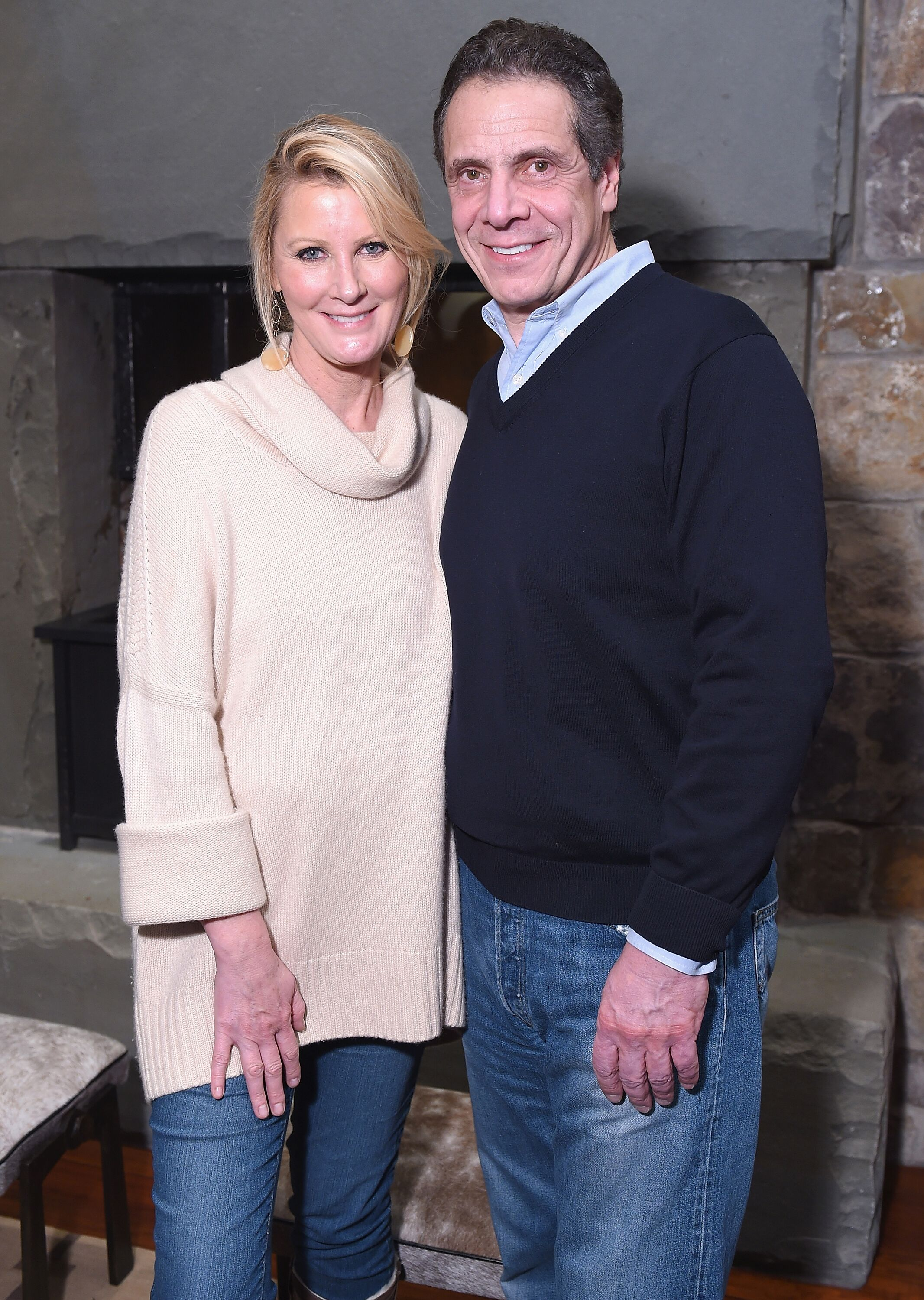 """Sandra Lee and Governer Andrew Cuomo attend the """"RX: Early Detection A Cancer Journey"""" at the Sundance Film Festival in 2018 