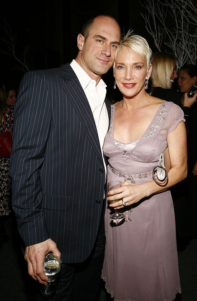 Christopher Meloni and wife Sherman Williams attend Gotham Magazine's March issue celebration in New York City on March 21, 2007 | Photo: Getty Images