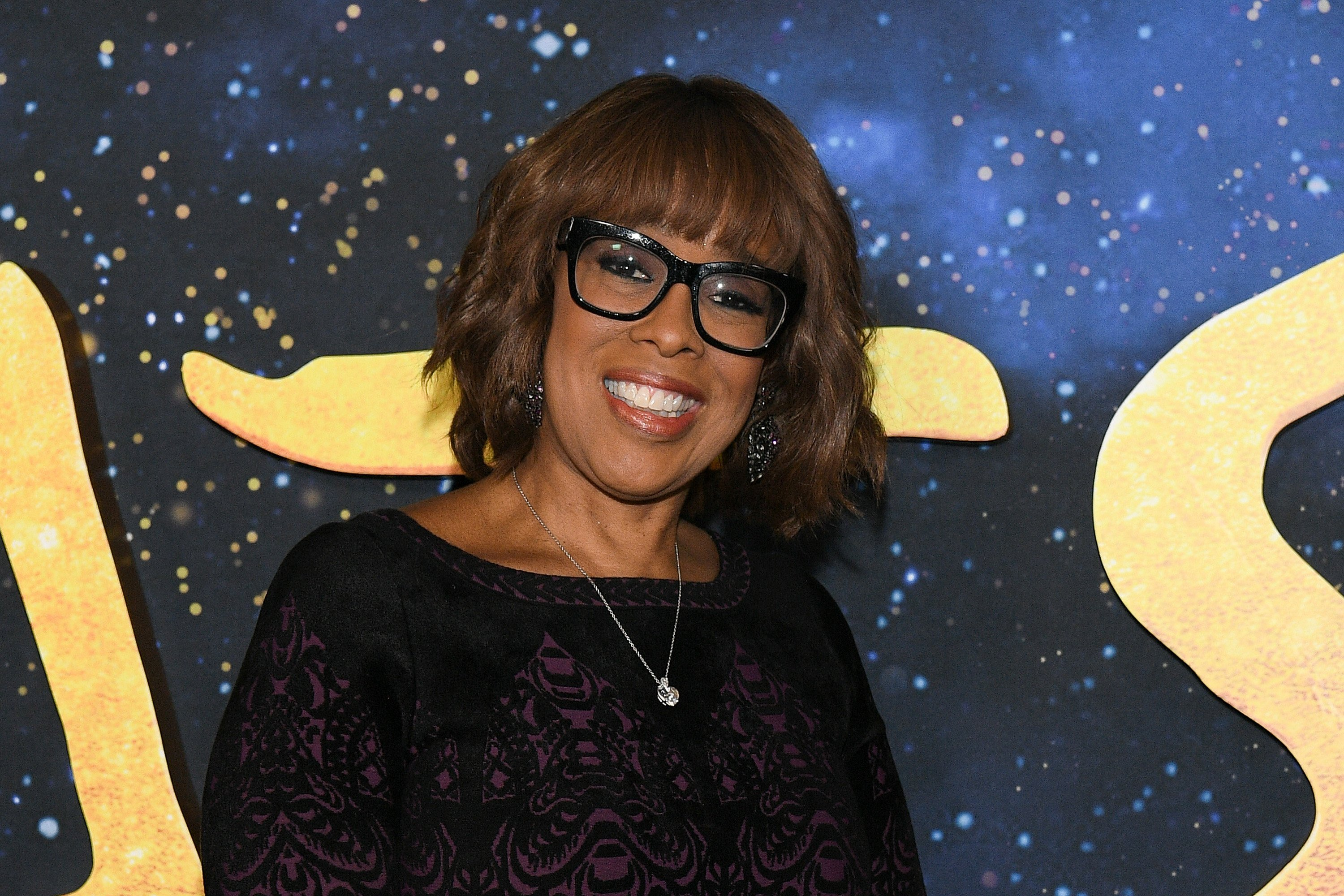 "Gayle King attends the world premiere of ""Cats"" at Alice Tully Hall, Lincoln Center on December 16, 2019