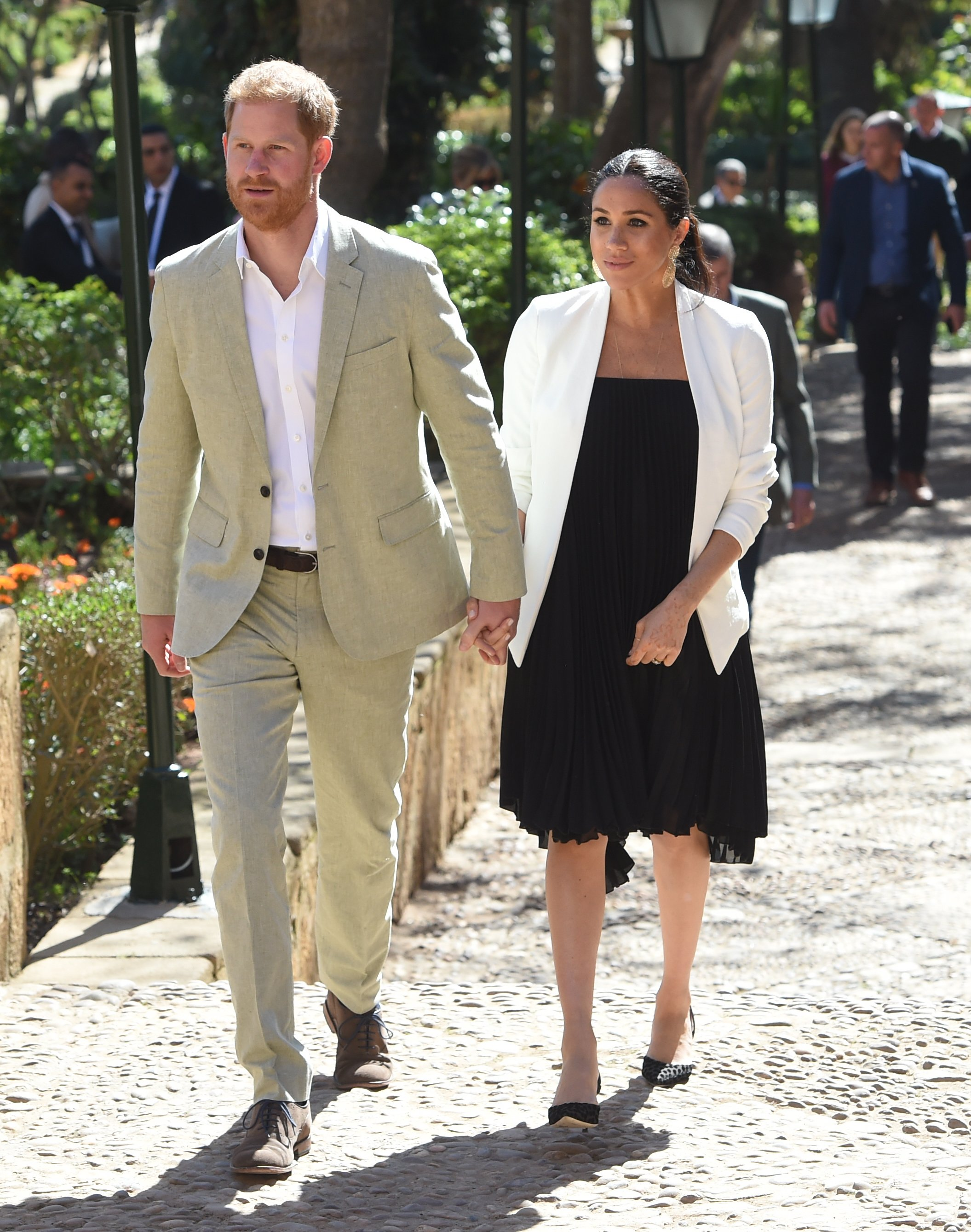 Duchess Meghan and Prince Harry   Photo: Getty Images