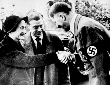 The Duke and the Duchess of Windsor received by Adolf Hitler | Wikimedia Commons