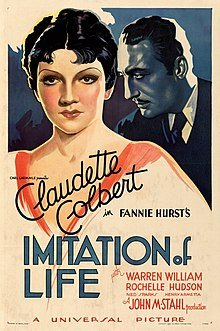 "Filmposter for the 1934 film, ""Imitation of Life"" 