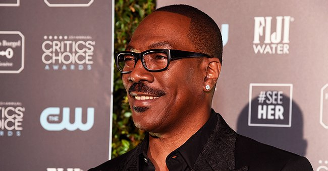 Eddie Murphy's Granddaughter Evie Flashes Cute Smile in a Denim Outfit