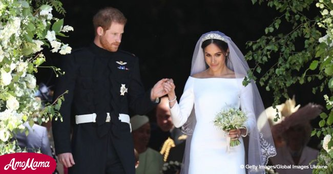 First official photos released of Royal family with newlyweds Harry & Meghan