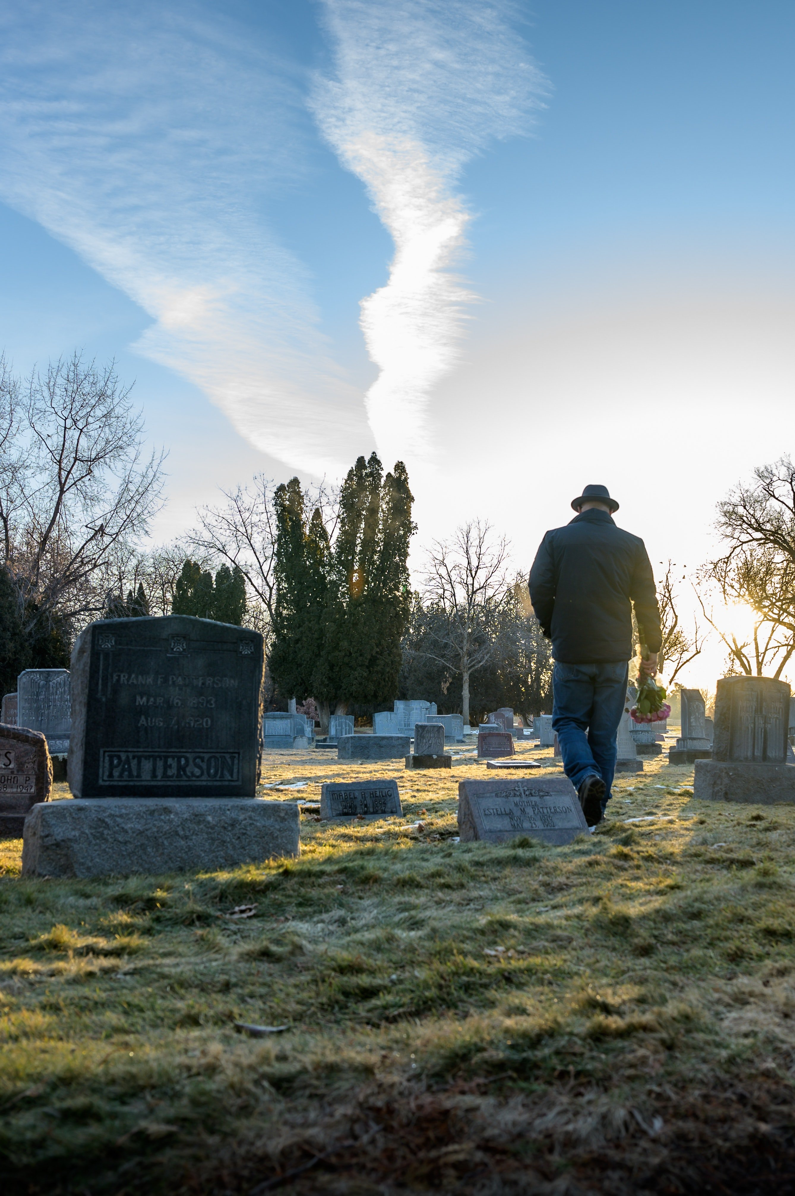 After an hour, another man was passing by, and he also fell into the open grave.   Photo: Pexels