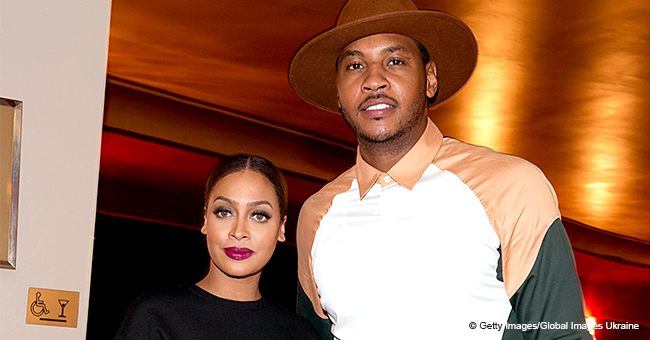 La La Anthony Shares Heart-Melting Video of Husband Carmelo Teaching Son His Signature Hoop Move