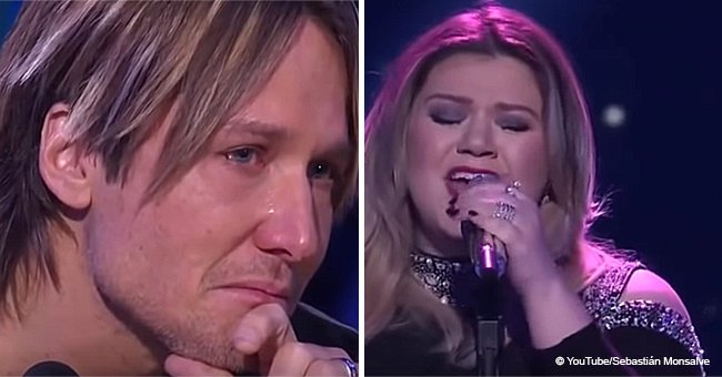 Video of Keith Urban Crying to Pregnant Kelly Clarkson's Performance Brings Chills to This Day