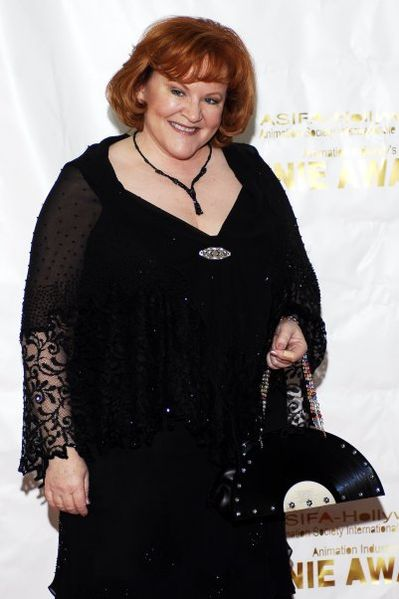 Edie McClurg at the 2006 Annie Awards. | Source: Wikimedia Commons