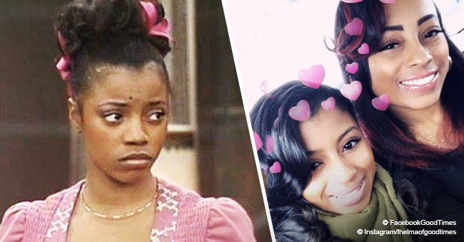 Remember Thelma from 'Good Times'? She's now 65 and has 2 grown-up look-alike daughters