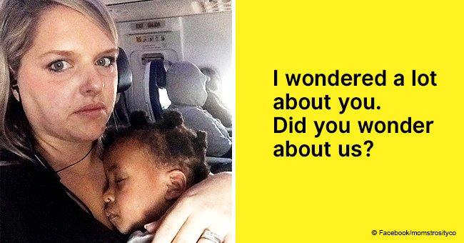 Mother 'annoyed' passenger while flying with toddler and it encouraged her to write a Facebook post
