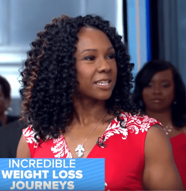 Screenshot of Victoria Brady after the weight loss. | Photo: YouTube/Good Morning America