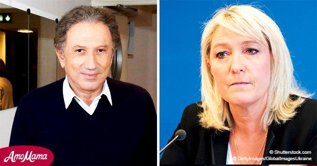 Michel Drucker parle des raisons politiques pour lesquelles Marine Le Pen n'a pas participé à son émission
