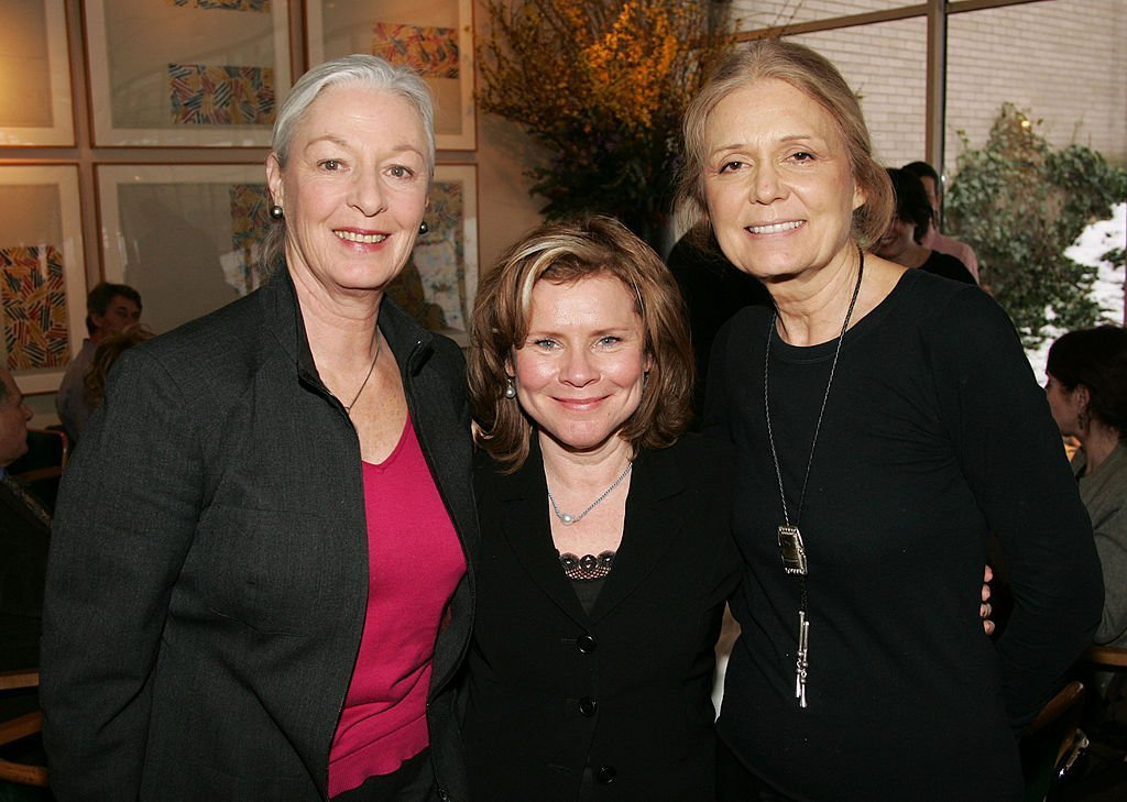 Jane Alexander, Imelda Staunton and Gloria Steinem attend a lunch for Imelda Stauton. | Source: Getty Images