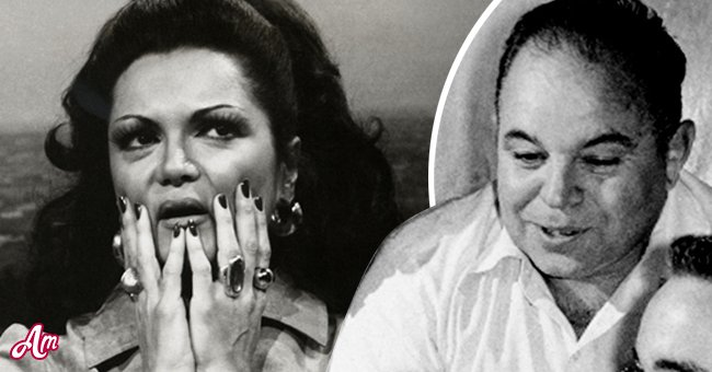 Connie Francis (Left) and her father, George (Left)   Photo: Getty Images