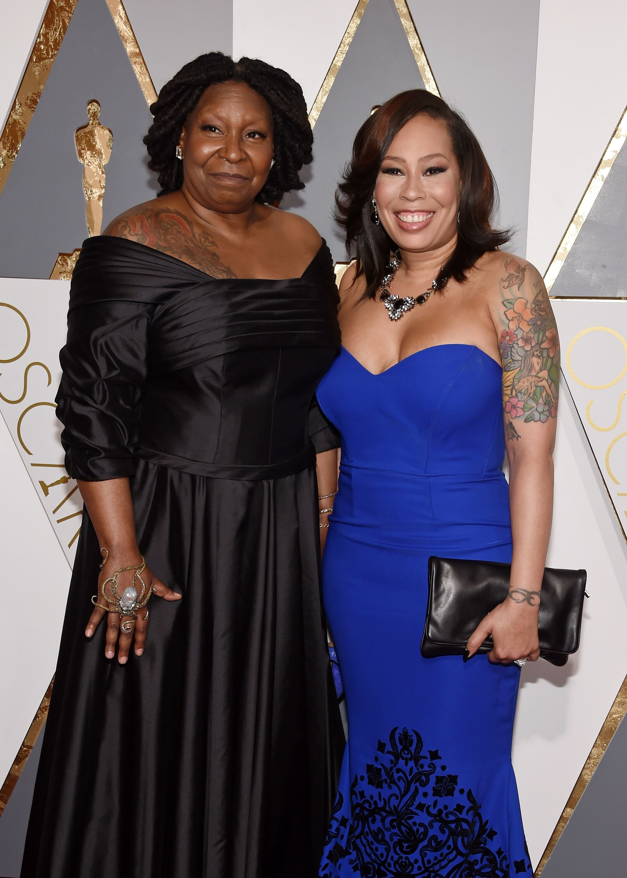 Whoopi Goldberg and Alex Martin attend the 88th Annual Academy Awards. | Source: Getty Images