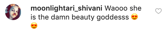 A fan's comment on Kris Jenner's picture | Source: Instagram/kyliecosmetics