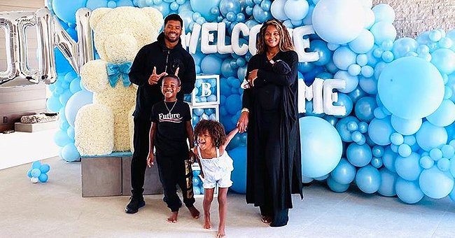 See How Ciara & Russell Wilson Welcomed Their Newborn Son Win Home after His Birth (Photos)