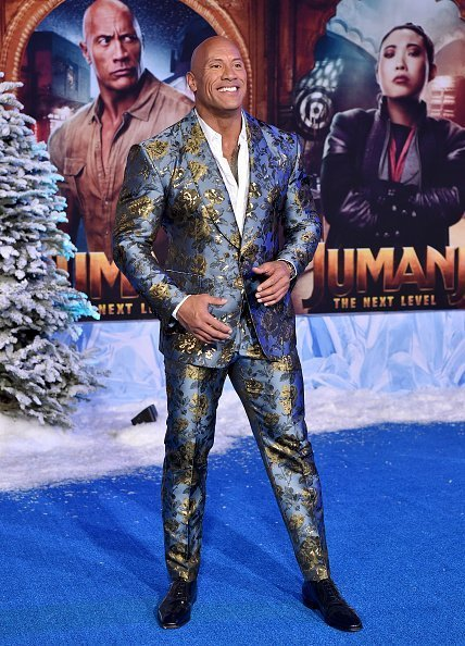 """Dwayne Johnson at the premiere of """"Jumanji: The Next Level"""" on December 09, 2019 in Hollywood, California.