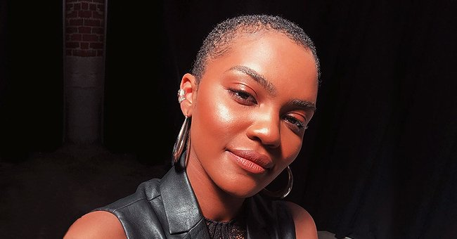 China McClain, AKA Jazmine from 'Tyler Perry's House of Payne' Flaunts Short Hair in Leather Jacket in Photos