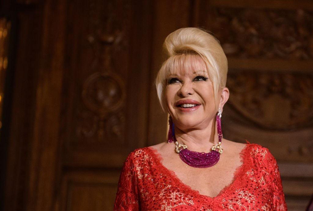 Ivana Trump attends a press conference announcing her new campaign to fight obesity at The Plaza Hotel | Photo: Getty Images