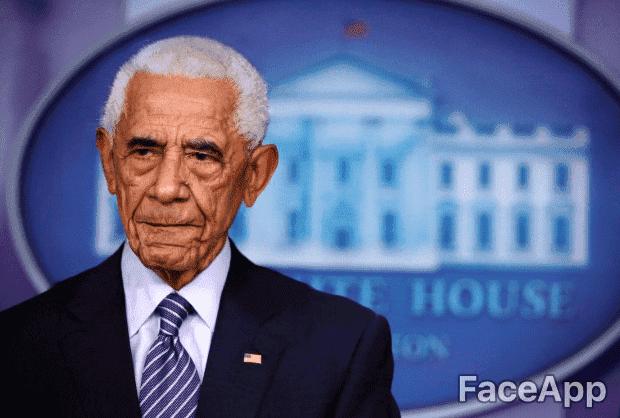 Barack Obama | Quelle: Getty Images / FaceApp