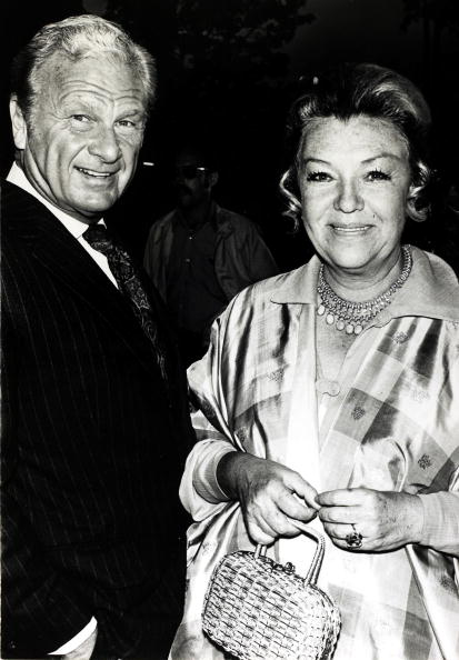 Eddie Albert with his wife Margo at a Hollywood film premiere on August 30 1972. | Photo: Getty Images