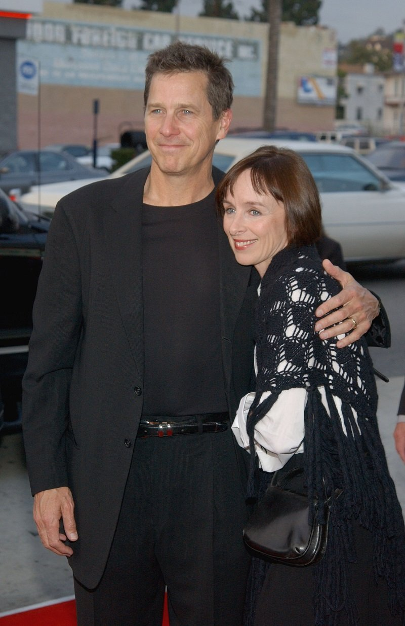 Tim Matheson and his wife Megan Murphy at the Henry Fonda Music Box Theatre on May 8, 2003 in Hollywood, California | Source: Getty Images/Global Images Ukraine