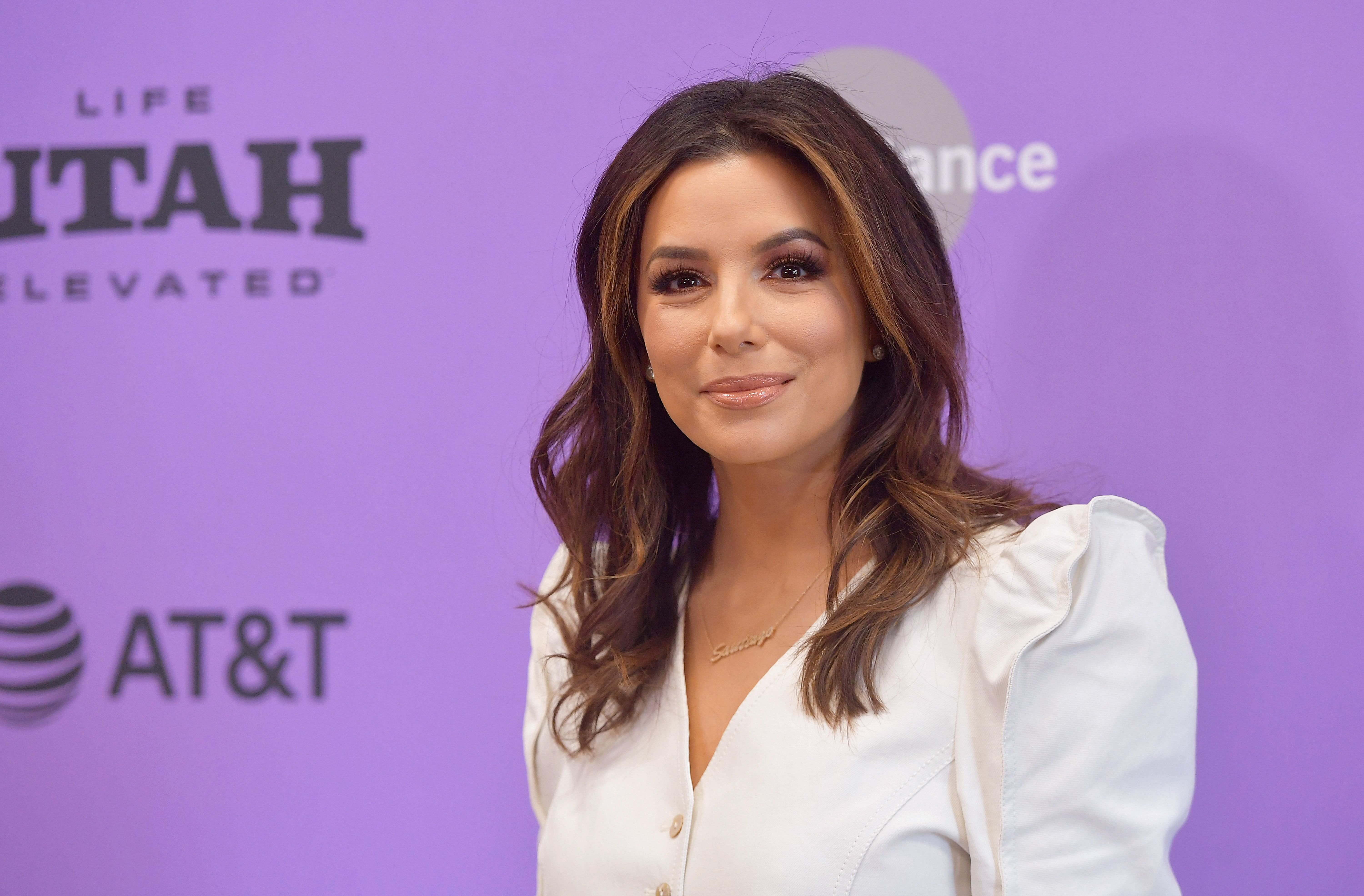 "Eva Longoria at the 2020 Sundance Film Festival - ""Sylvie's Love"" Premiere at Eccles Center Theatre on January 27, 2020 