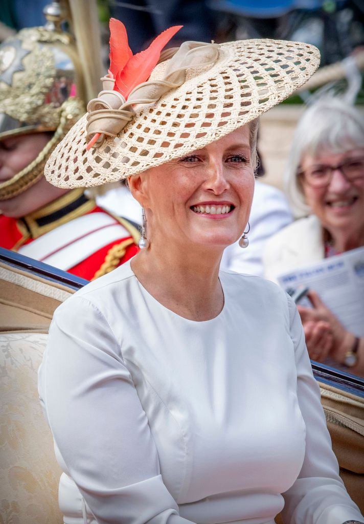 Sophie Countess of Wessex at St George's Chapel on June 17, 2019 in Windsor, England.   Photo: Getty Images