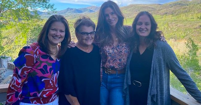 Cindy Crawford, 55, Looks Ageless In a Colorful Shirt and Jeans in Rare Pic with Her Mom & Sisters