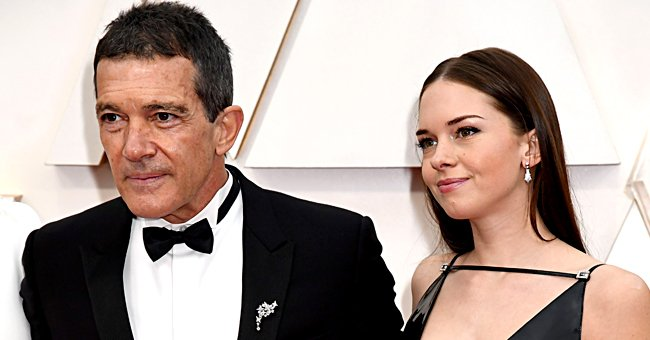 Antonio Banderas and Stella Banderas Griffith pictured at the 92nd Annual Academy Awards, 2020, Hollywood, California. | Photo: Getty Images