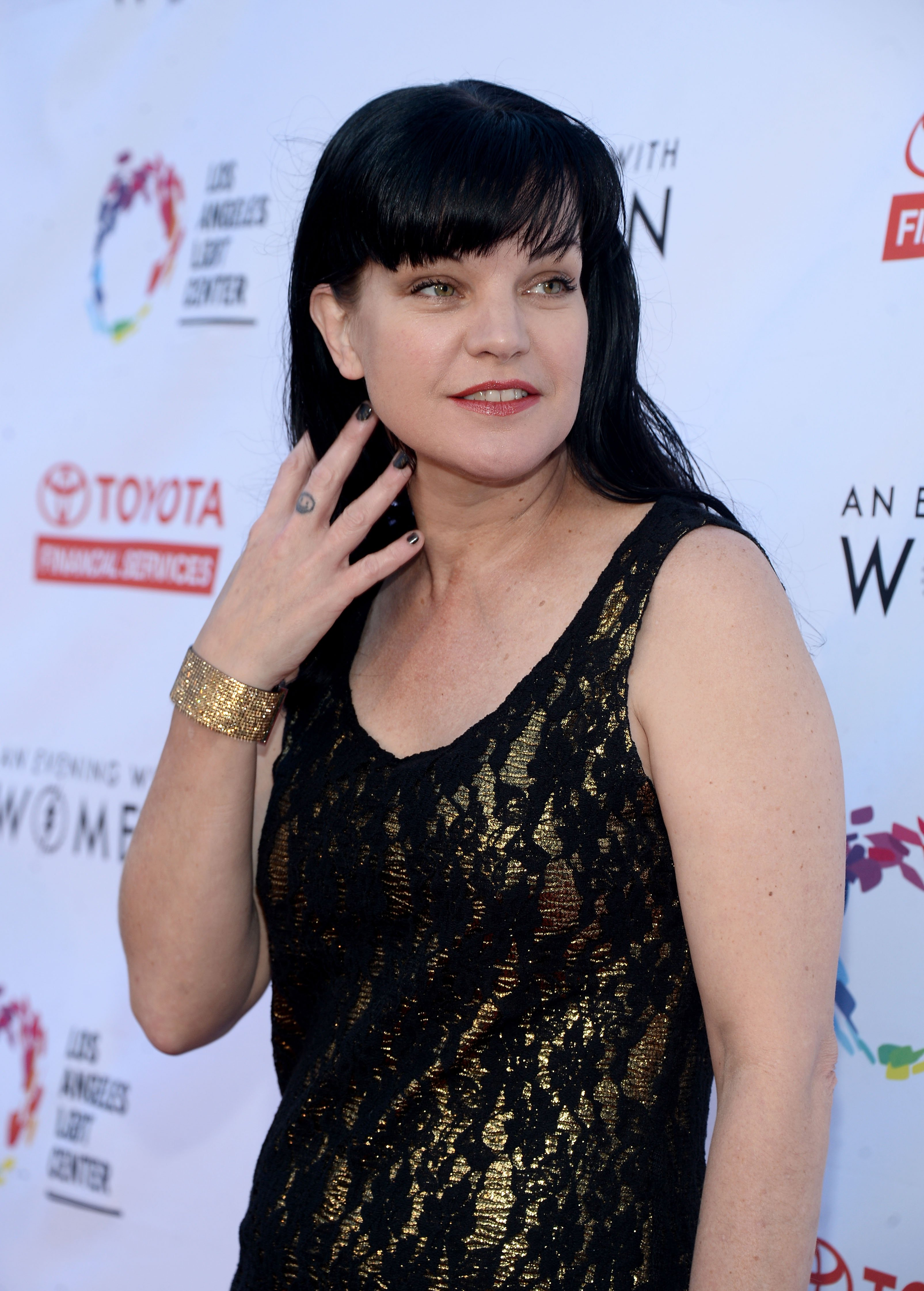 Pauley Perrette attends An Evening with Women benefit in Los Angeles, California on May 21, 2016 | Photo: Getty Images