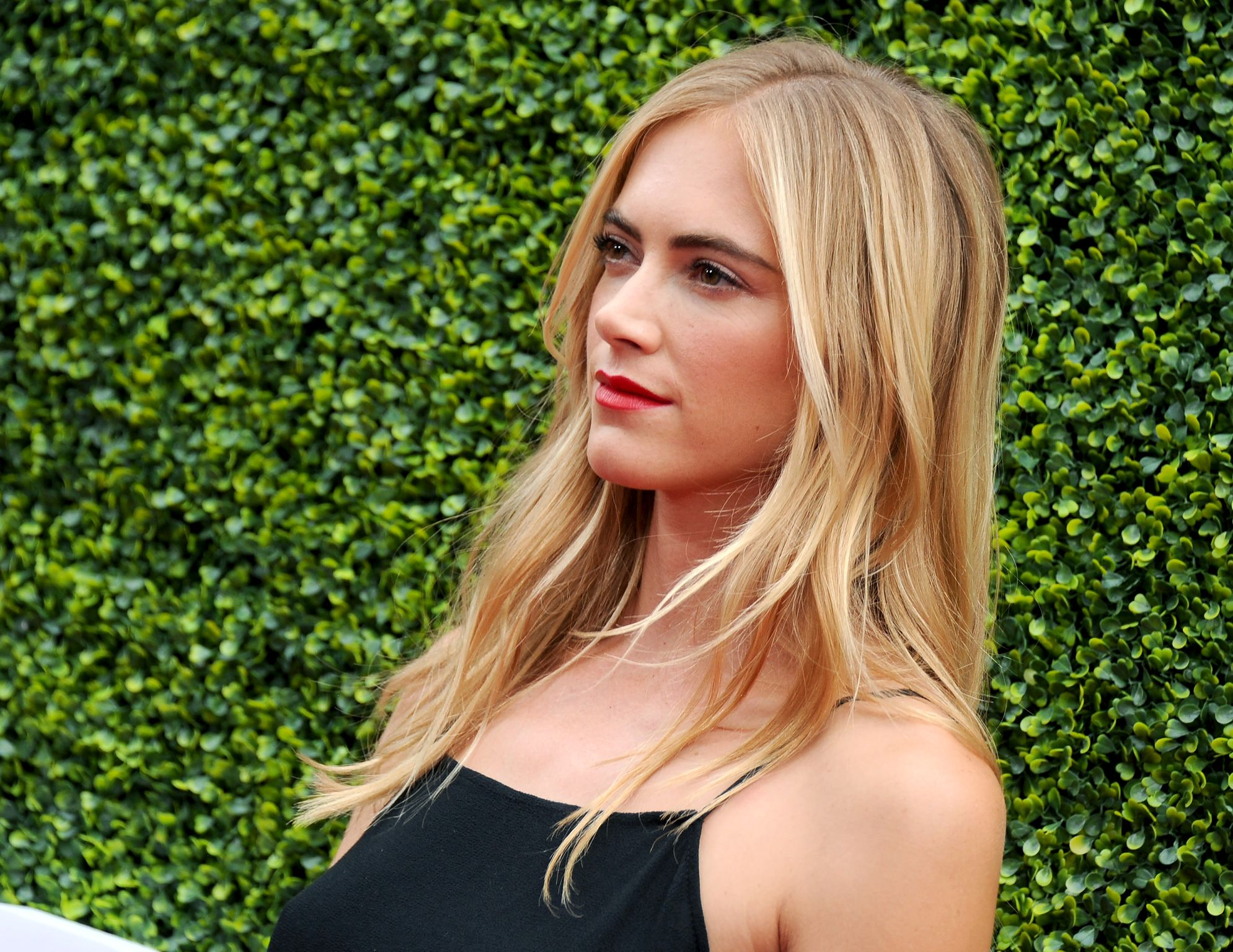 Emily Wickersham arrives at the 2017 Summer TCA Tour - CBS Television Studios' Summer Soiree at CBS Studios - Radford  | Getty Images