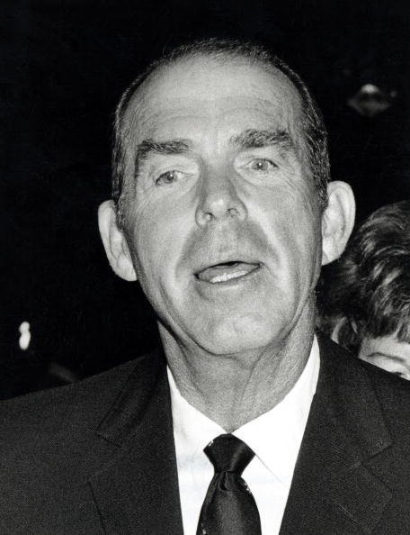 Fred MacMurray during 41st Annual Academy Awards at The Dorothy Chandler Pavillion in Los Angeles, California, United States   Photo: Getty Images