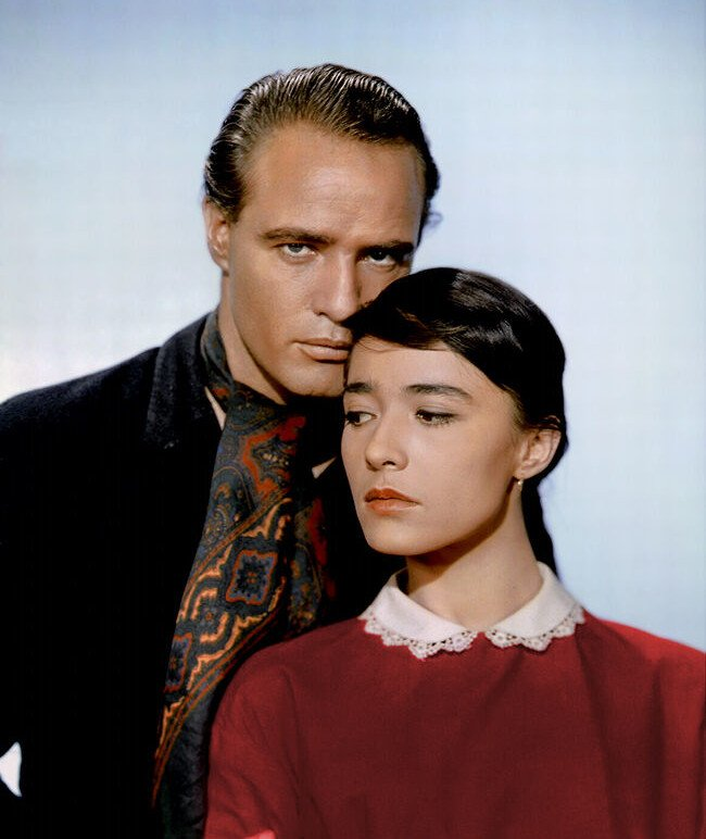 "Marlon Brando and Pina Pellicer in the 1961 film, ""One-Eyed Jacks"" 