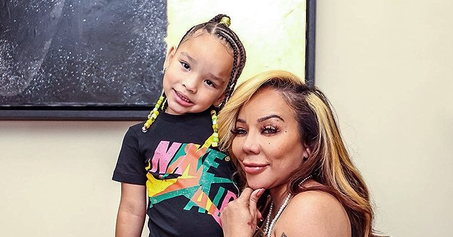 Tiny Harris & Her 'Mini-Me' Heiress Look like Twins Closely Posing in New Mom-Daughter Photos