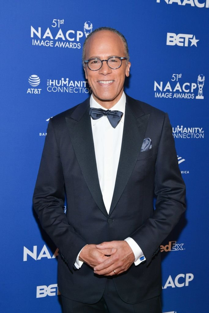 Lester Holt attends the 51st NAACP Image Awards non-televised Awards Dinner on February 21, 2020 | Photo: Getty Images