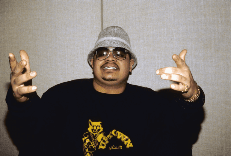 Rapper Heavy D poses for a portrait in New York City circa 1988 | Photo: Getty Images