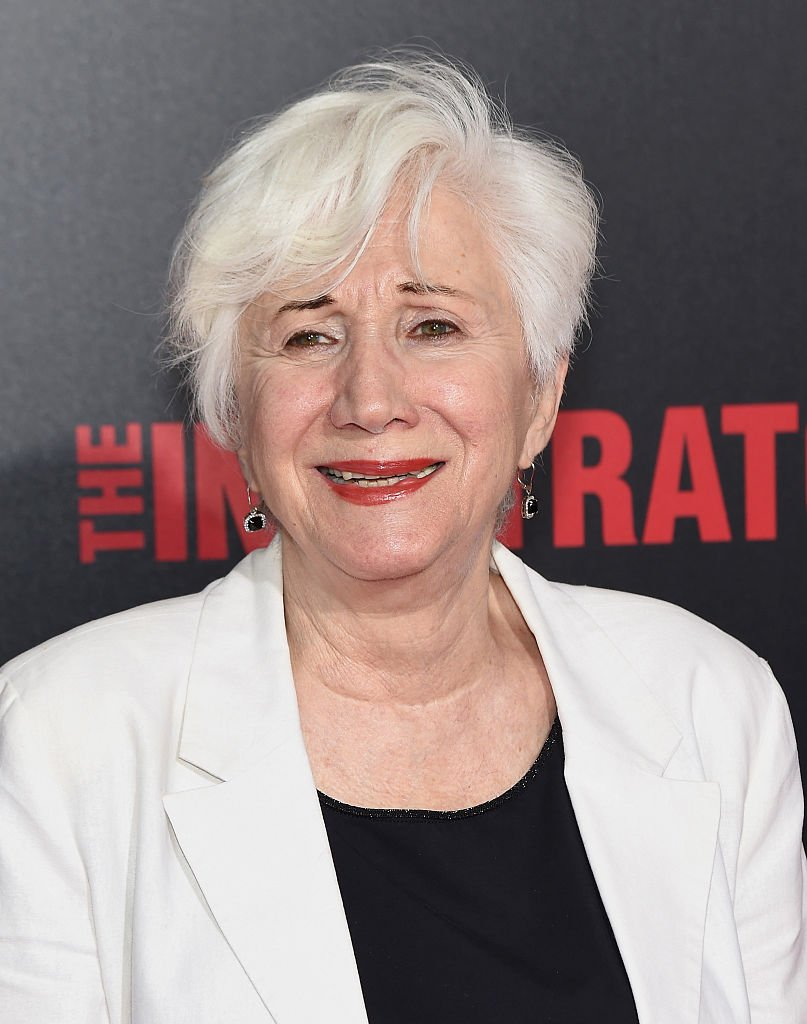 "Olympia Dukakis attends the ""The Infiltrator"" New York premiere at AMC Loews Lincoln Square 13 theater 
