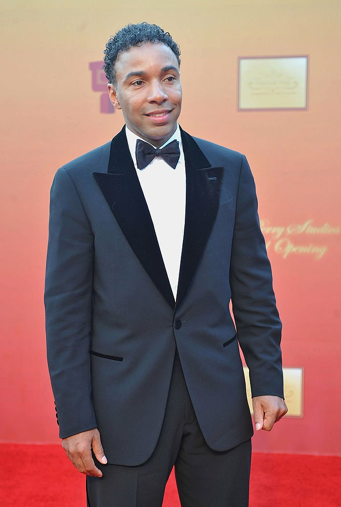 Allen Payne at the unveiling of Tyler Perry Studios on October 4, 2008 in Atlanta, Georgia   Photo: Getty Images