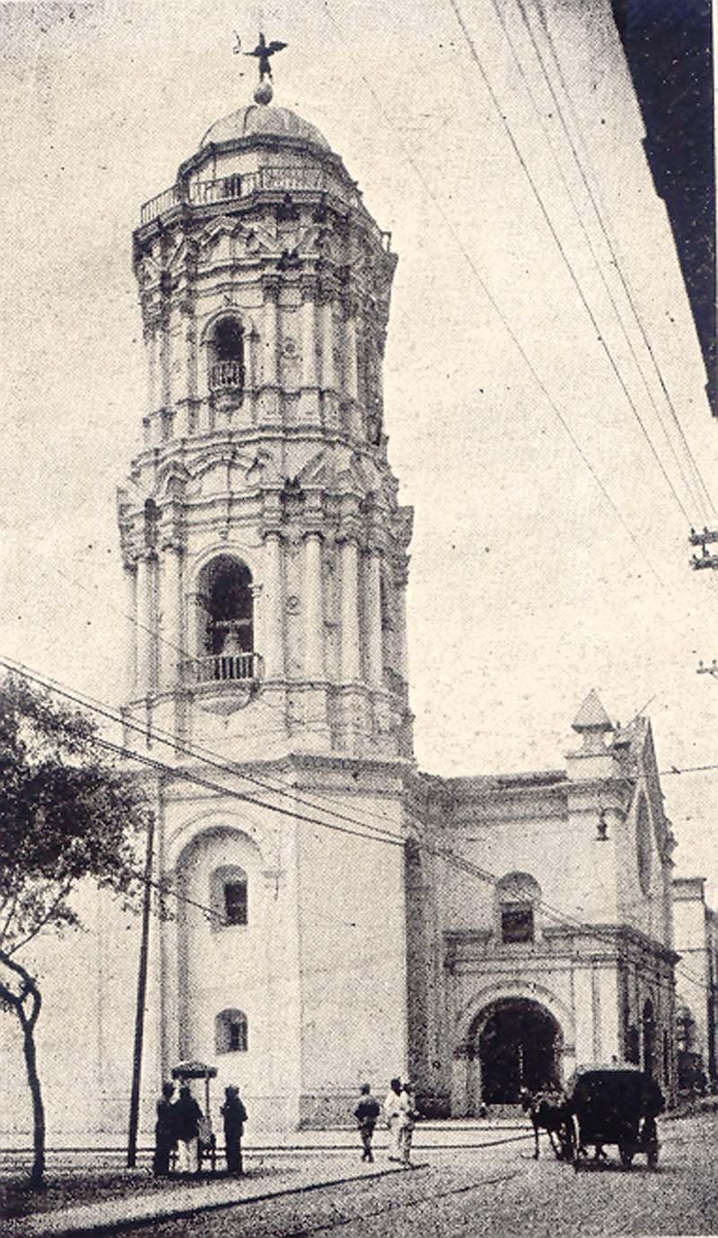 Iglesia de Santo Domingo en Lima Perú.| Fuente: Wikipedia