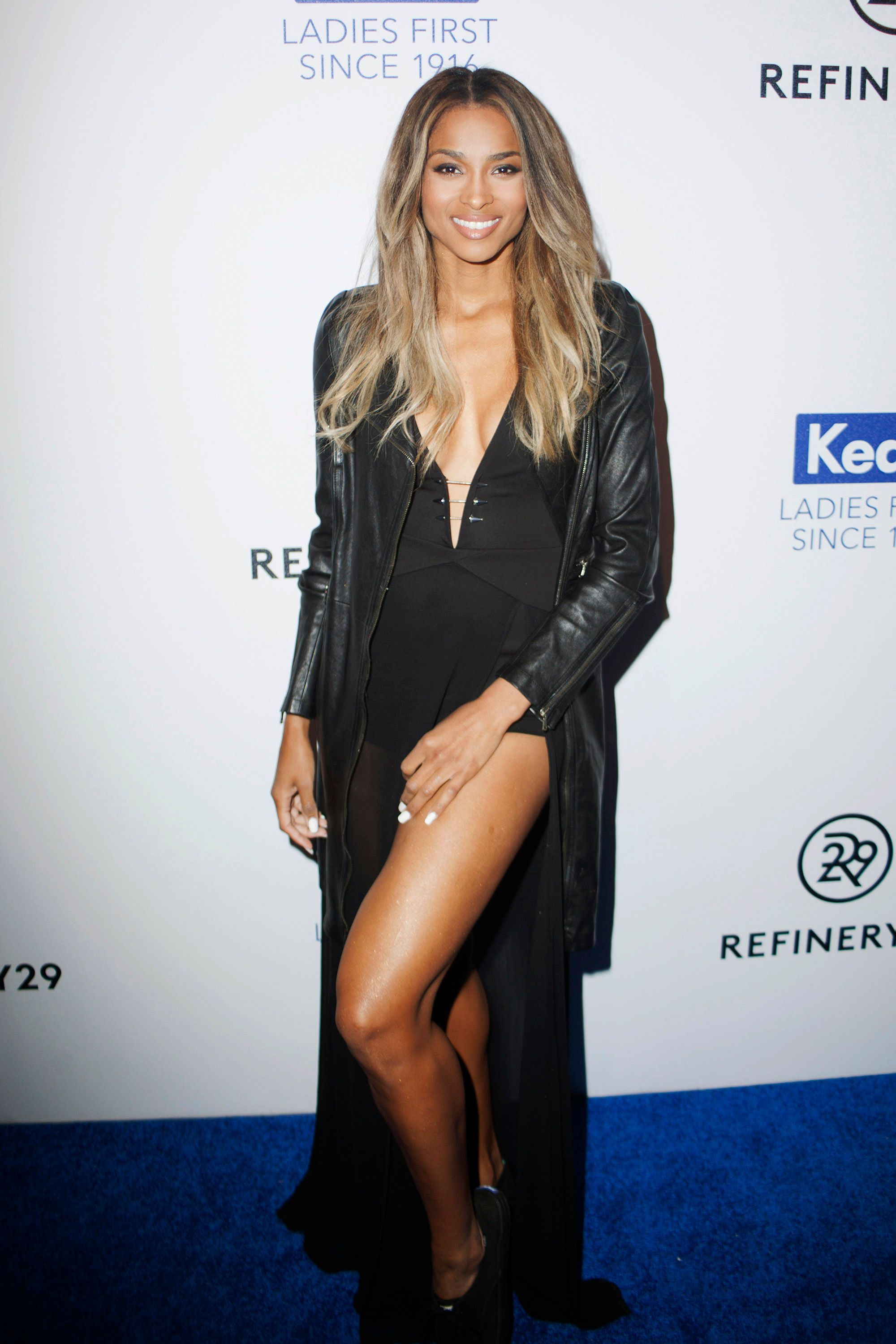 Singer Ciara at the Keds Centennial Celebration in New York on February 10, 2016.   Photo: Getty Images