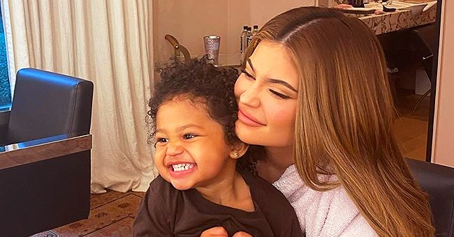 Kylie Jenner Compares Her Childhood Self to Daughter Stormi in a Sweet Snap