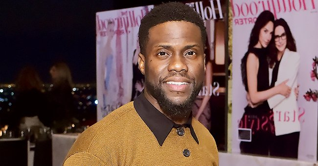 Kevin Hart Shows off His Muscular Arms during Tattoo Session with Renowned Artist Scoot Mason