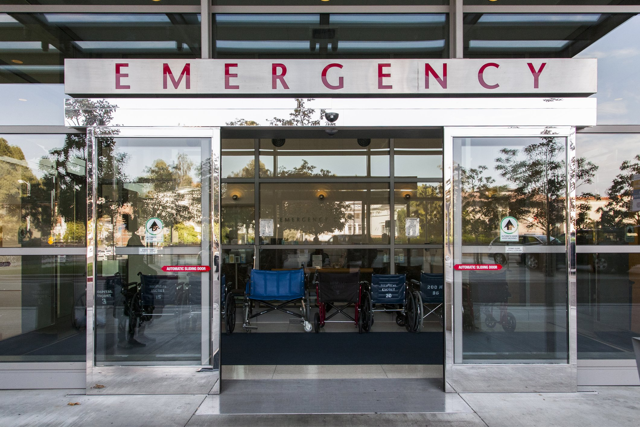 Emergency section of a hospital building. | Photo: Getty Images