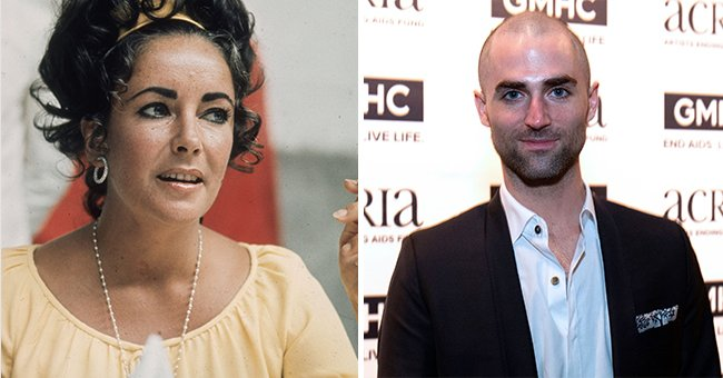 Elizabeth Taylor's Grandson Is All Grown-up and Inherited Her Exceptional Beauty